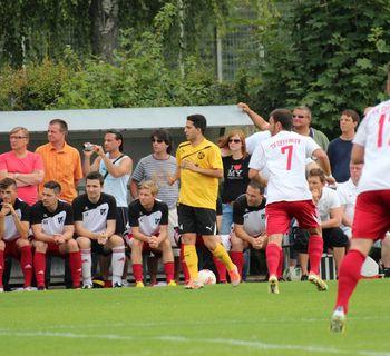 Spiel gg. Spvgg 07 Ludwigsburg 18.08.2013
