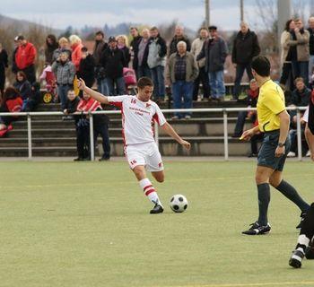 Spiel gg. FC Allmersbach 28.03.2010